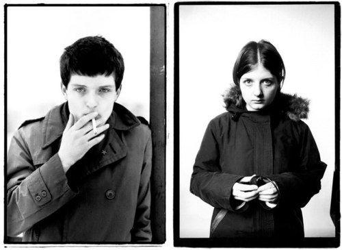 Ian Curtis (Joy Division) & his daughter, Natalie, a photographer.