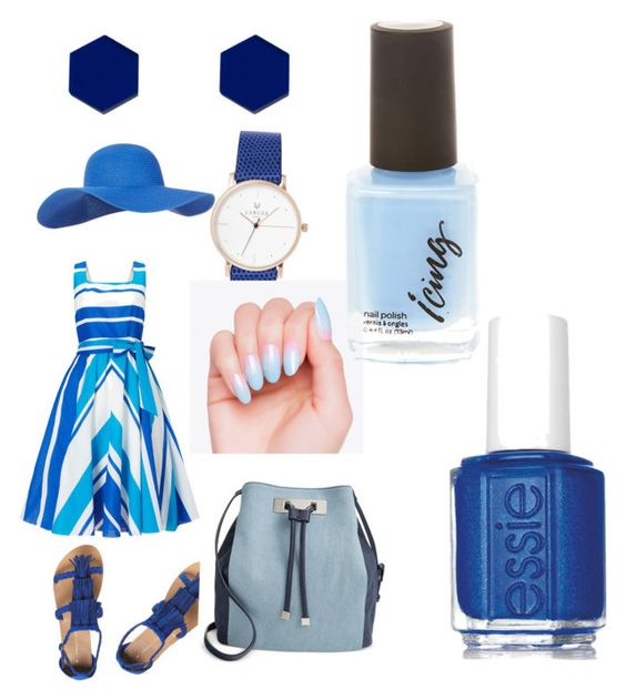"""""""At the beach"""" by reesev05 ❤ liked on Polyvore featuring Accessorize, Phase Eight, Dorothy Perkins, INC International Concepts, Wolf & Moon and Essie"""