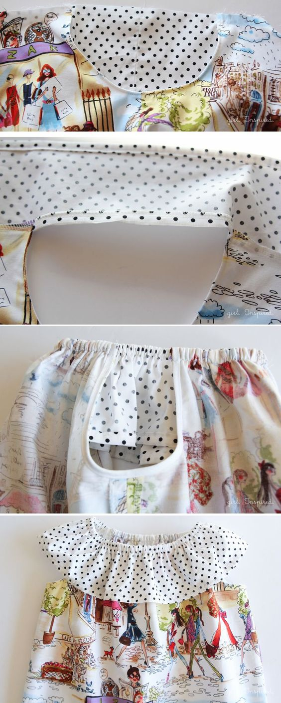 Sleeveless Peasant Dress Tutorial and the Prairie Rose Pattern - girl. Inspired.
