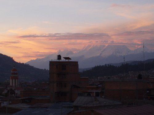 Sunset in Huaraz