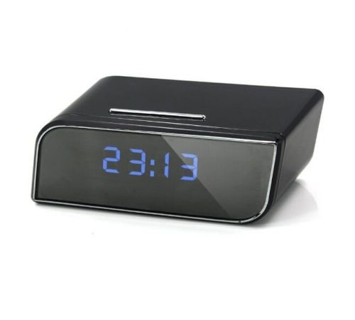 Mini Kamera W Budziku Sc535 Hd Wifi Ip Tryb Nocny Clock Alarm Clock Digital Alarm Clock