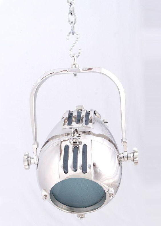 Pendelleuchte Lucan Hängelampe Aluminiumlook 9467. Buy now at https://www.moebel-wohnbar.de/pendelleuchte-lucan-haengelampe-haengestrahler-metall-mit-alufinish-9467.html