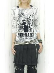Tie Dye Like Flocky Print Cutsew / See more at http://www.cdjapan.co.jp/apparel/new_arrival.html?brand=DRT #Japan Fashion #harajuku