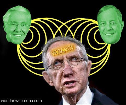 Koch brothers mentally taunt Harry Reid