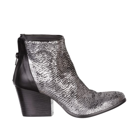 silver ankle boots - fiorifrancesi