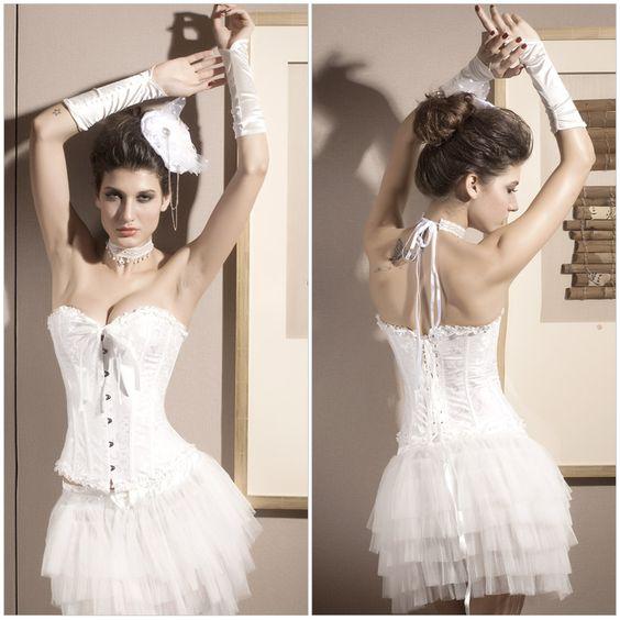 Closed waist corset vest Slim body sculpting underwear
