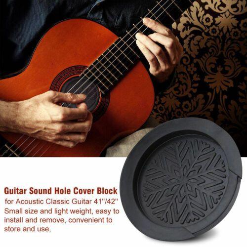 3 05 High Quality Acoustic Guitar Bass Screeching Halt Sound Hole Cover Block Plug Guitar Acoustic Guitar Acoustic