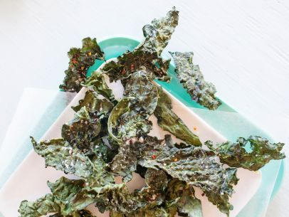 As seen on Guy's Big Bite: Crispy Kale Chips with Lemon