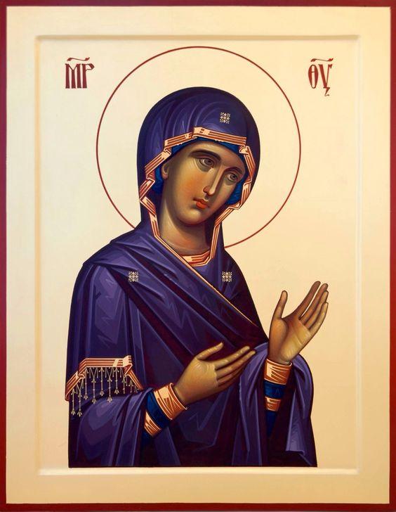 Deesis Icon of the Theotokos