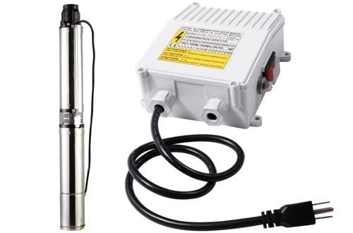 Goplus 1 Hp Stainless Deep Well Submersible Pump Submersible Well Pump Well Pump Submersible