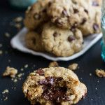 Mom's Simple Oatmeal Chocolate Chip Cookies…The Best Oatmeal Chocolate Chip Cookies Around.