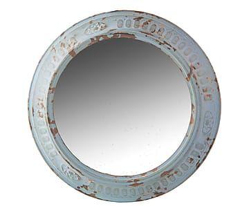 Espejo en hierro – Ø34 cm