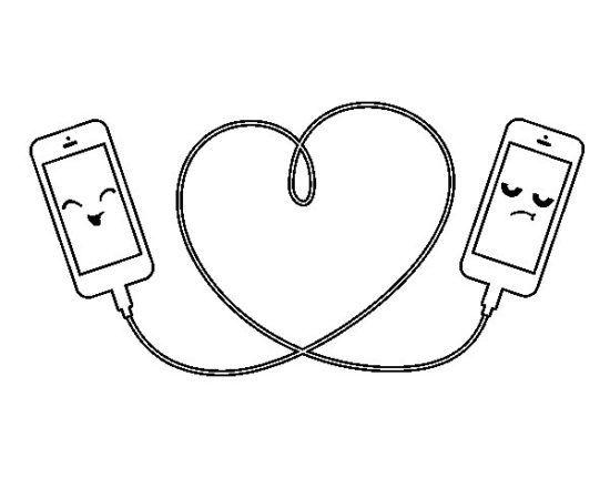 Dibujos Para Colorear Faciles Dibujos Lindos De Amor Dibujos