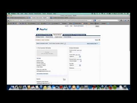 YouTube create invoice on paypal Love and Paparazzi Pinterest - sending an invoice