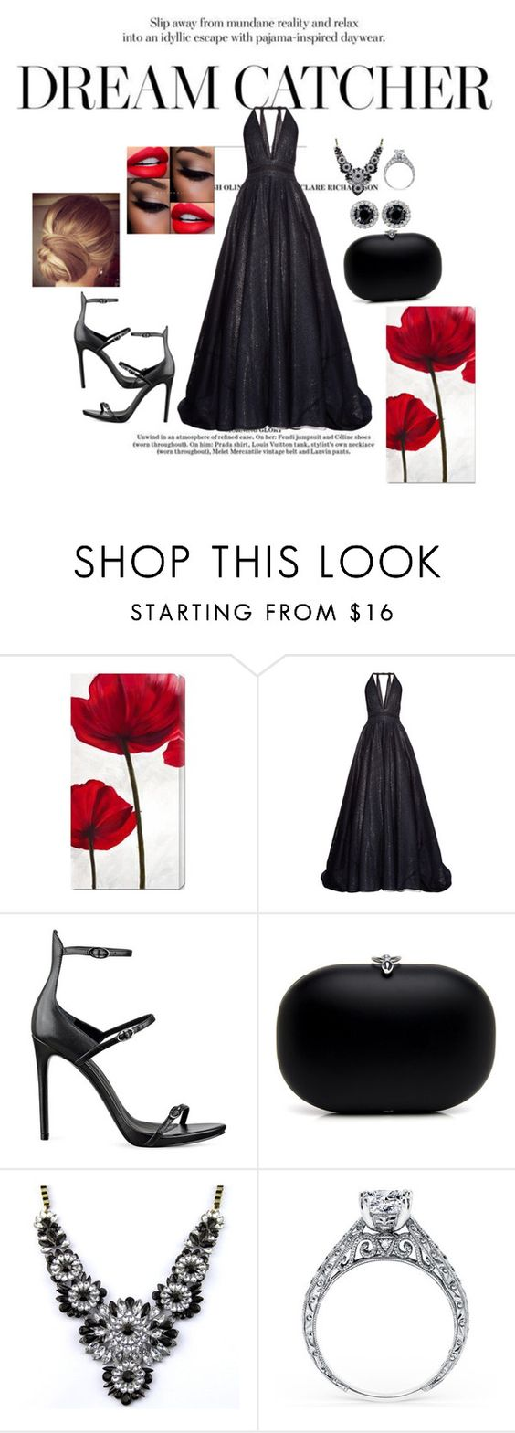 """Oscar's red carpet"" by ihottestpm ❤ liked on Polyvore featuring мода, Sophie Theallet и Kendall + Kylie"