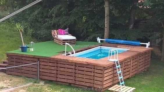 30 Most Inspiring Diy Pallet Swimming Pool Ideas Diy Swimming