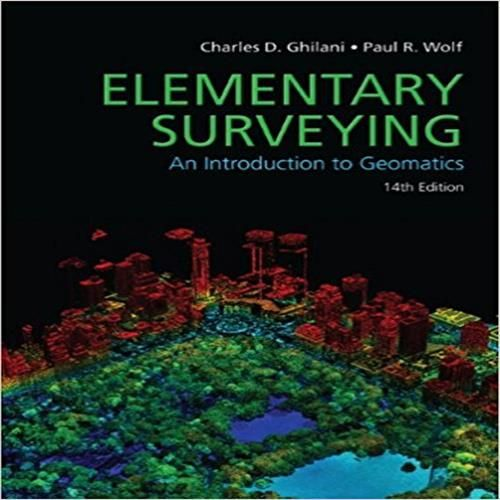 Solution Manual For Elementary Surveying 14th Edition Full Solution Manual Manual For Elementary Surveying An Introduction T Elementary Digital Book Surveying