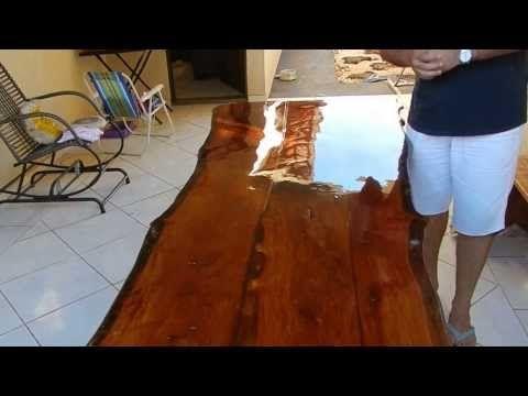 Removendo verniz de madeira - YouTube