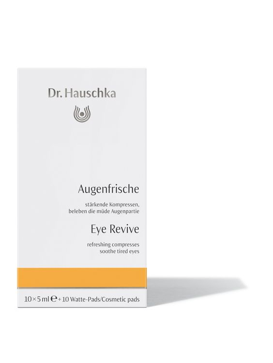 Eye Revive cares for all skin conditions. Offering refreshment to tired or red eyes, this soothing herbal solution reduces the appearance of puffiness in the skin around the eyes.