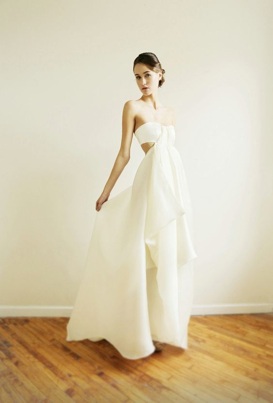 Karine Wedding Gown by Leanimal on Etsy, $2,415.00