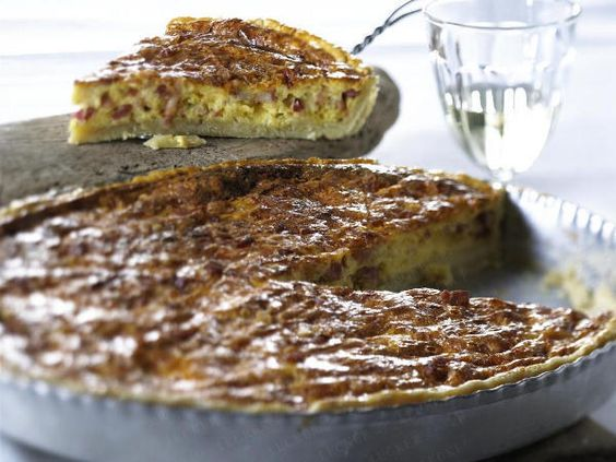 Französische Rezepte - Bon appétit! - quiche-lorraine-b  Rezept