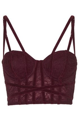 Velvet and Lace Corset