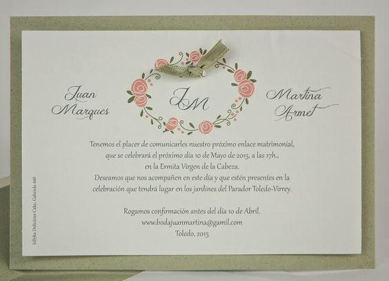 You and me: las invitaciones de tu boda