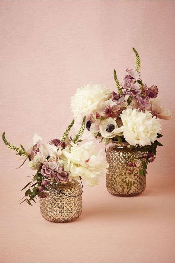 Fenton Mercury Lanterns in Décor Centerpieces at BHLDN #wedding #weddingaccessories #decorations