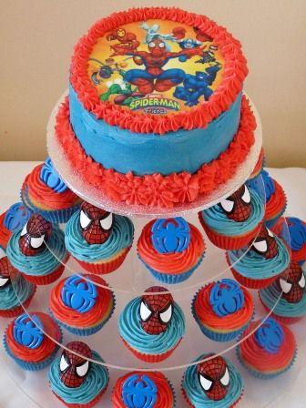 Spiderman birthday.