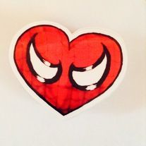 All you Marvel and spidey fans out there, show your love for the masked web-slinger by grabbing yourself one of these AMAZING stickers! Sized at 2.5x3. For your car, Laptop, Video game console, Skateboard. You name it the list goes on! Only 3 bucks! you cant be that!