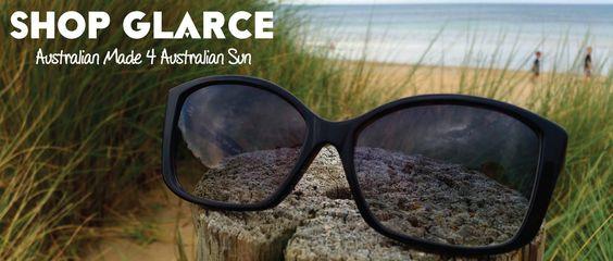 Shop for Glarce Australian Made Sunglasses at Play it Green