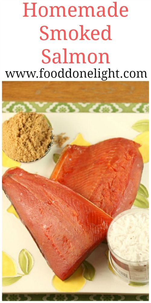 Homemade smoked salmon real food low calorie recipe for Salmon fish nutrition