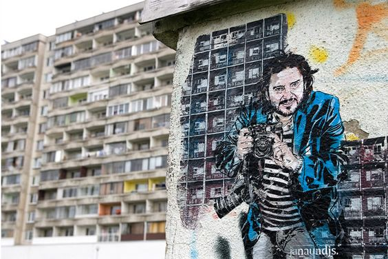 The street art of JANA & JS