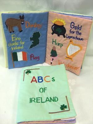 ABCs of Ireland Cloth Children's Book