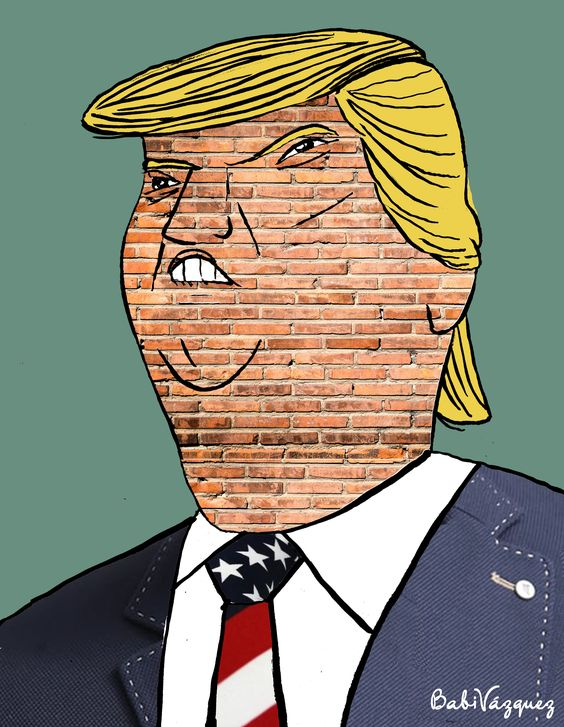 #dibujo #caricatura #sketch #drawing #cartoon #bocetos #trump