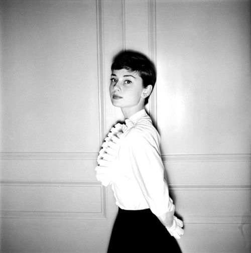 Audrey Hepburn photographed by Cecil Beaton, 1955