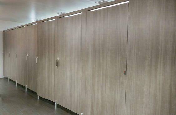 Ironwood Manufacturing Laminate Toilet Partition And Bathroom Doors With Door Lite Insert Beautif Restroom Design All Gender Restroom Gender Neutral Bathrooms