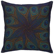 Louis C. Tiffany Peacock Feather Pillow Cover - shopPBS.org