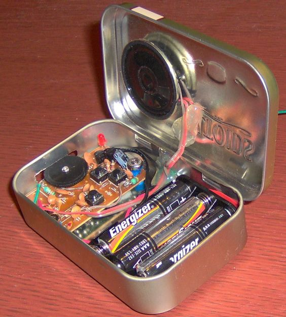 Altoid's tin project enclosure