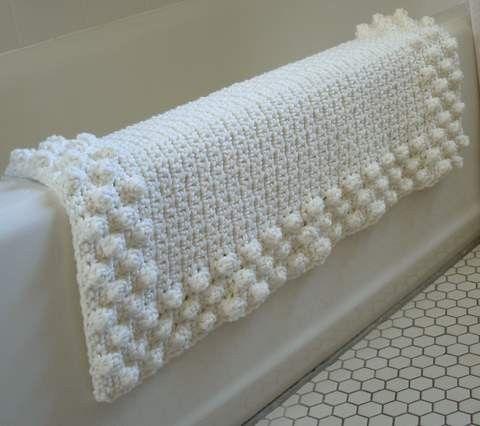 Alfombra de ba o tejido pinterest beautiful dise o - Alfombras de bano ...