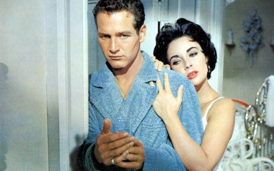 Paul Newman & Elizabeth Taylor / Cat on a Hot Tin Roof, 1958
