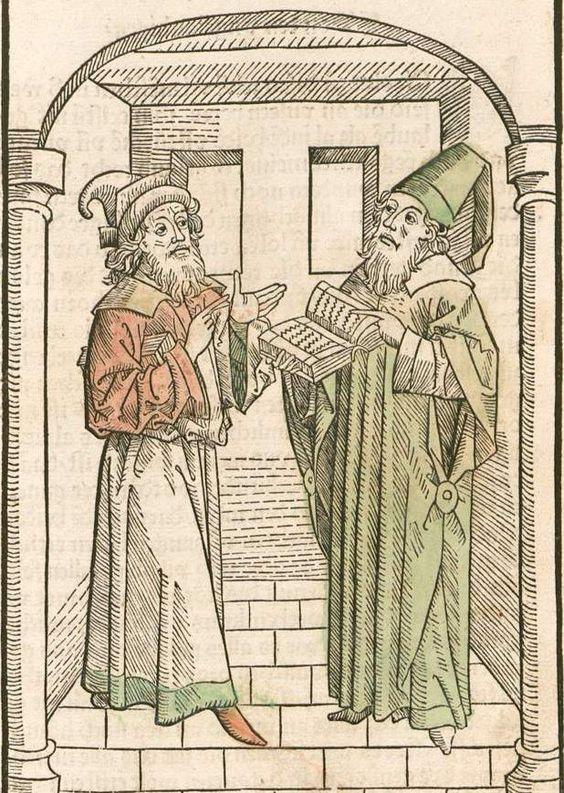Hie volget nach ein lieplich vnd nützliche materi. vnd wirt genant der selen wurczgart Ulm, 1483 GW M41167  Folio 9