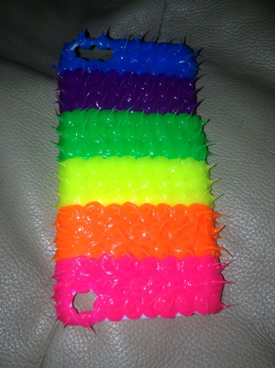 COOL spicky iPod 5 case from Claire's