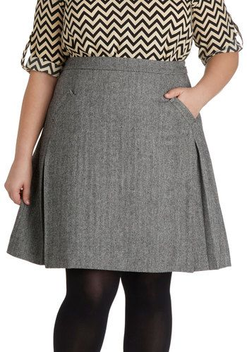 School of Style Skirt, #ModCloth