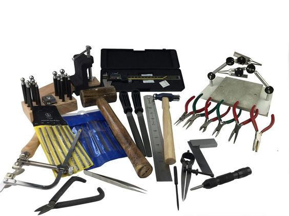 University Student Tool Kit Created by us, Doming Set, Pliers, Saw, Files, etc…