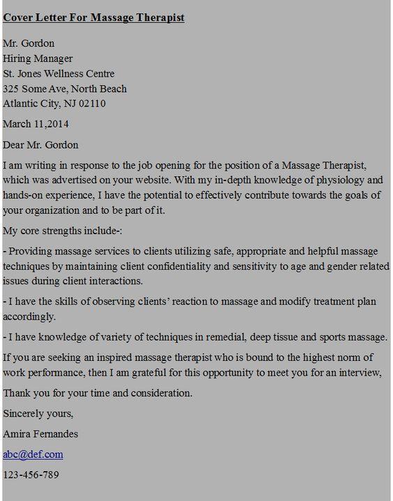 Massage Therapist Resume Sample - My Perfect Resume Resume - new massage therapist resume examples