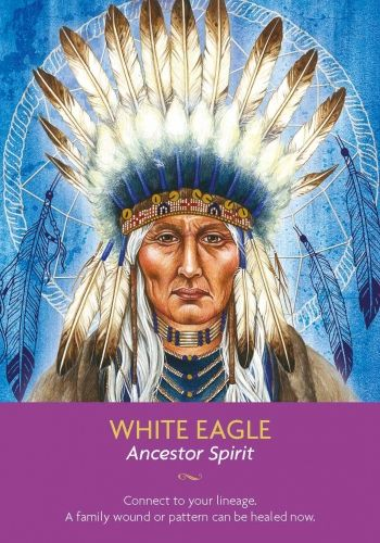 Take some time to honour just how far you have come. You have or have recently had an opportunity to heal an old family wound or pattern. It's important to connect with your family in spirit so that you can set a new energy of love in place. White Eagle is bringing your ancestors through to you and allowing you to know that they are happy and well.: