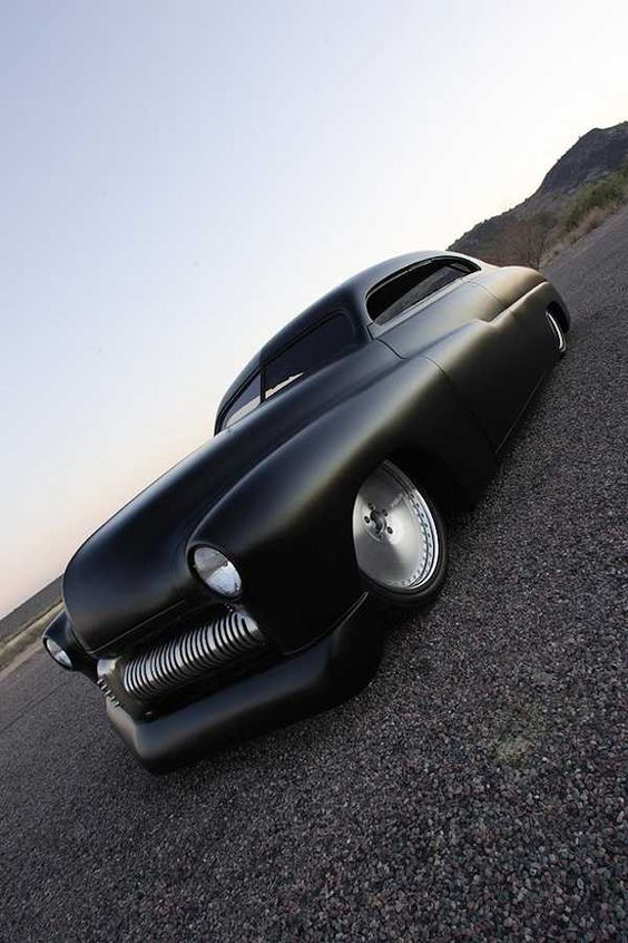 1949 Merc lead Sled built by Fesler