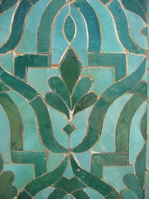 Blue Tile - Morocco