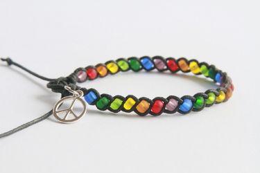 Bracelet with peace